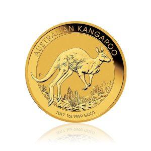 1 Unze Goldmünze Känguru Nugget 2017