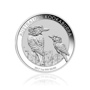1 Unze Silbermünze Kookaburra 2017