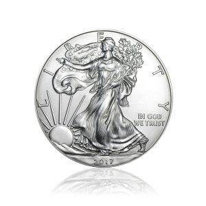 1 Unze Silber American Eagle div