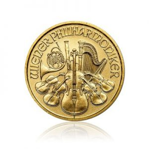 1/10 Unze Gold Philharmoniker 2017
