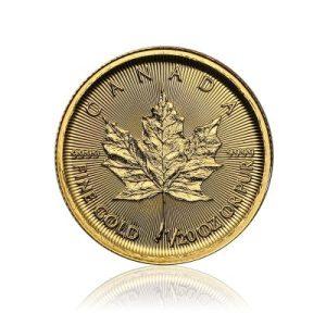 1/20 Unze Gold Maple Leaf 2017