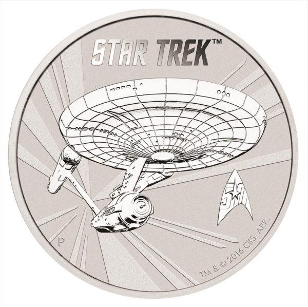 1 Unze Silber Enterprise NCC-1701