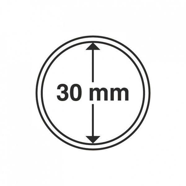 MÜNZKAPSELN 30 MM, 1 Stück
