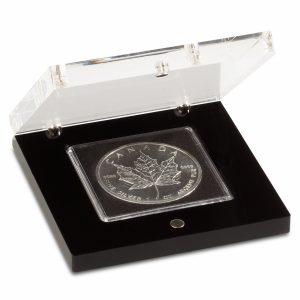 Münzetui Prisma für 1 QUADRUM-Kapsel, schwarz