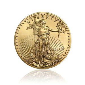 1 Unze Goldmünze American Eagle 2017