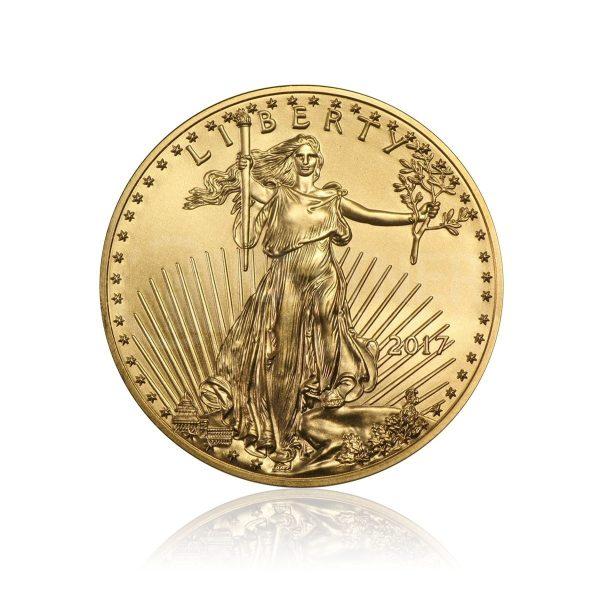 1/2 Unze Goldmünze American Eagle 2015