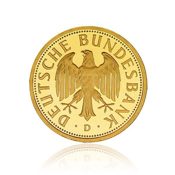 1 DM Gold Deutschland 2001