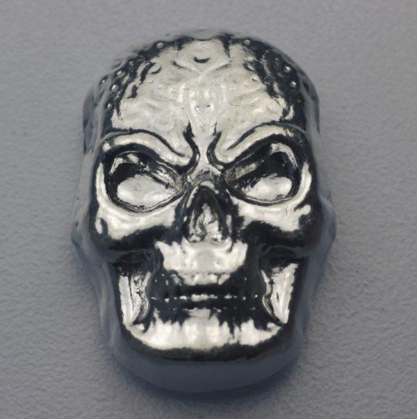 "1 Unze Silber ""Celtic Skull"", Gußbarren"