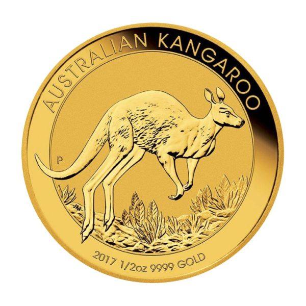 1/2 Unze Goldmünze Känguru Nugget 2017