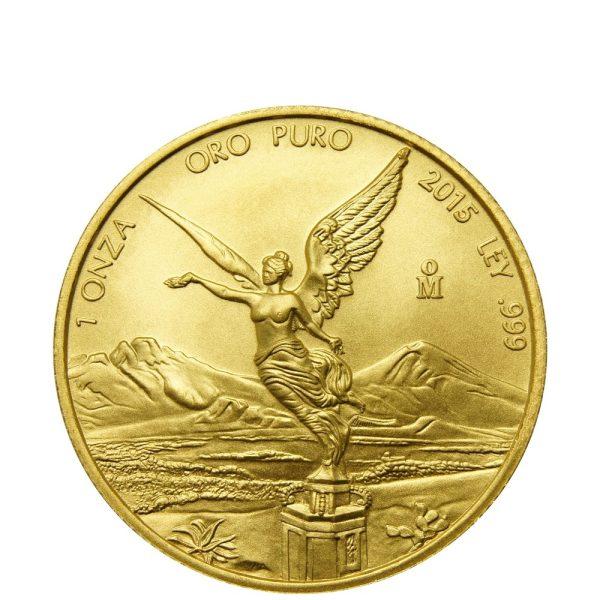 1 Unze Goldmünze Mexiko Libertad 2017