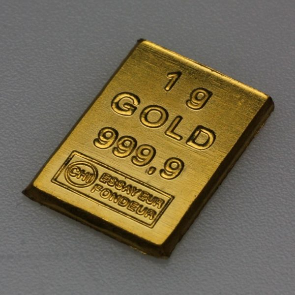 "1g Goldbarren ""Leiterplatte"" (Valcambi)"