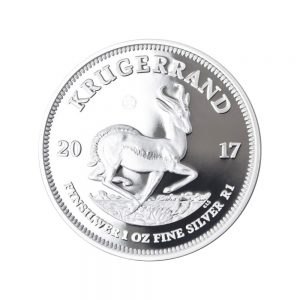 1 Unze Silbermünze Krügerrand 2017