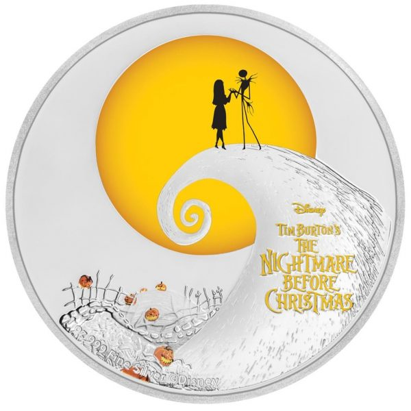 1 Unze Silber Tim Burton's Nightmare before Christmas (TM)