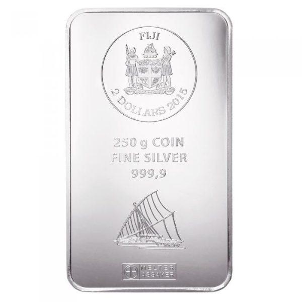 250 gr Silber Fiji Münzbarren (Argor Heraeus)