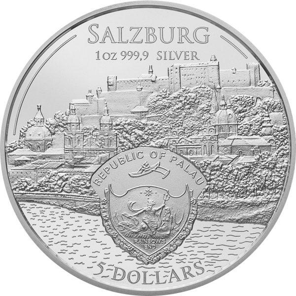 1 Unze Silber Mozart Coin 2017