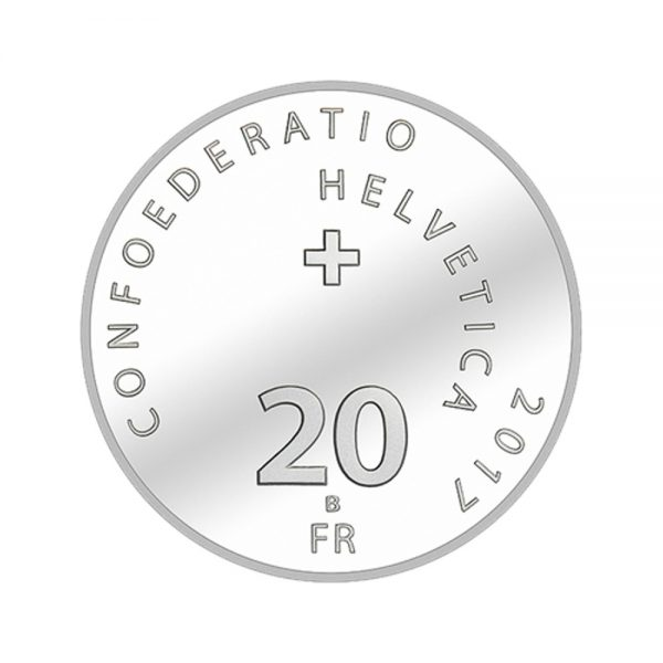 20 CHF Silbermünze 500 Jahre Reformation PP