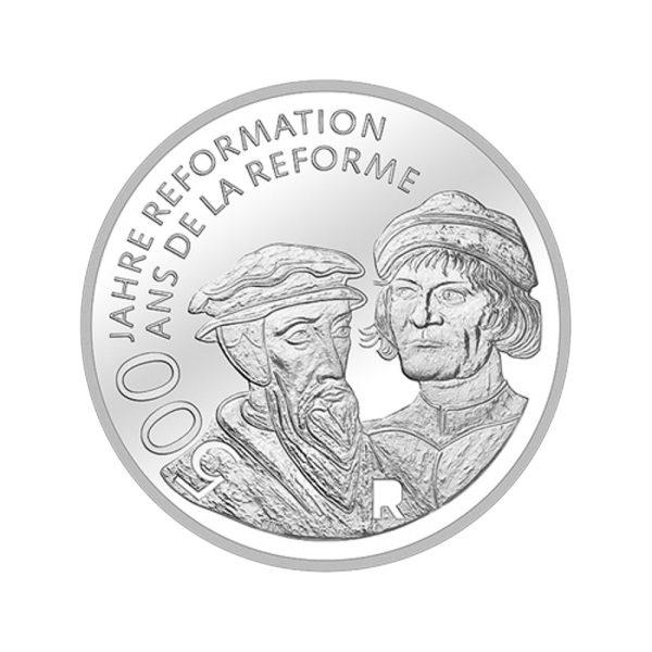 20 CHF Silbermünze 500 Jahre Reformation