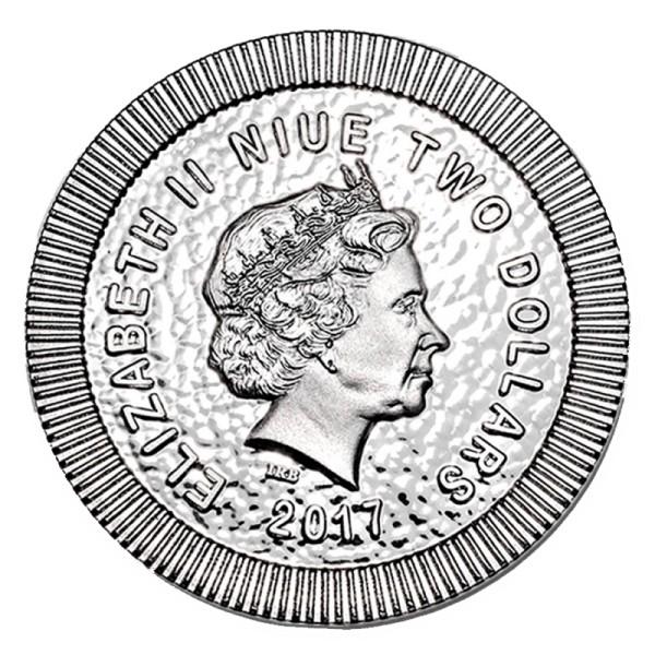 1 Unze Silbermünze Eule von Athen 2017