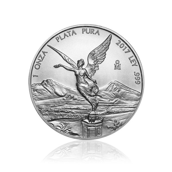 1 Unze Silbermünze Mexiko Libertad 2017