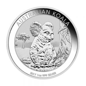 1oz Silber Koala 2017