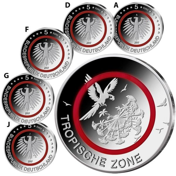 5 Euro Tropische Zone 2017