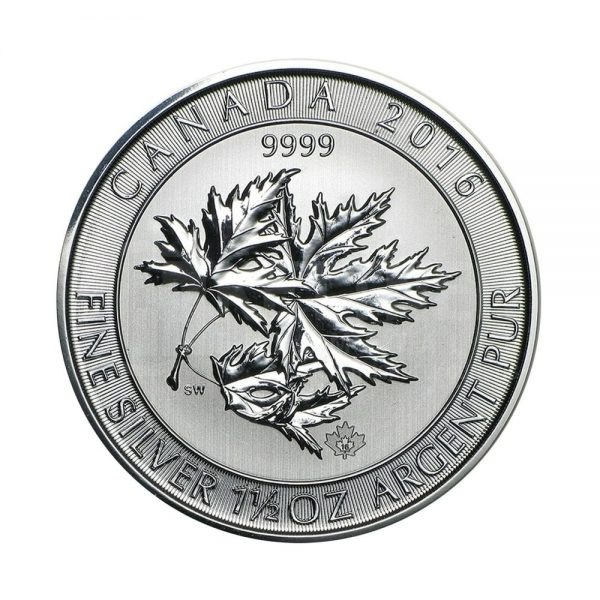 1,5 Unze Silber Maple Leaf 2017