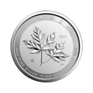 10 Unzen Silber Maple Leaf 2017