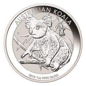 1oz Silber Koala 2018