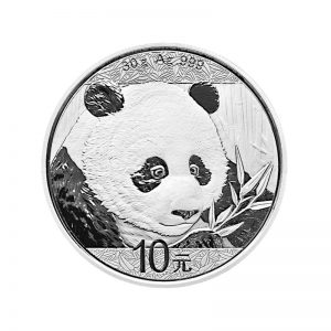 30 gr Silbermünze China Panda 2018
