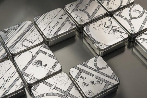 50 gr Silbermünze Ägyptisches Labyrinth Cook Islands
