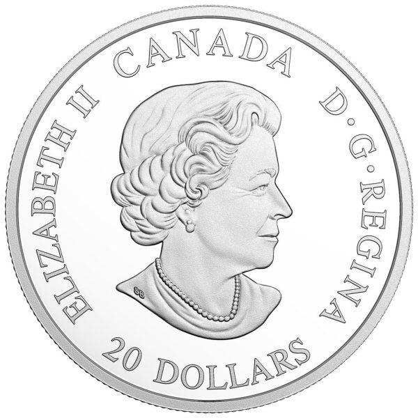 1 Unze Silbermünze Galionsfiguren - Nordische Furie (1.)