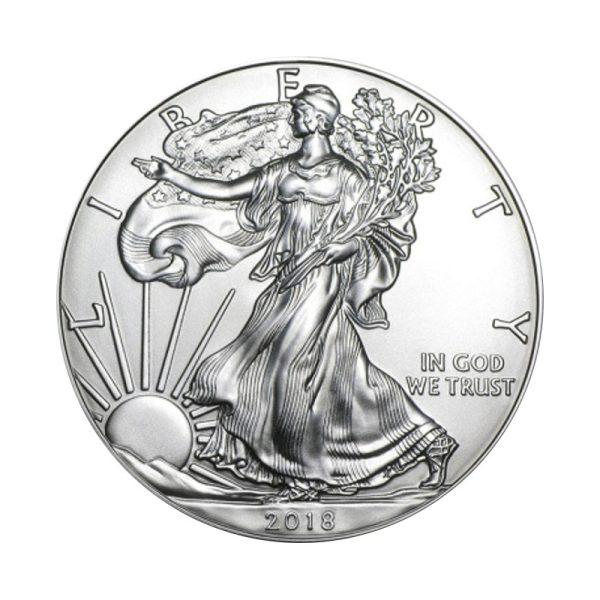 1 Unze Silber American Eagle 2018