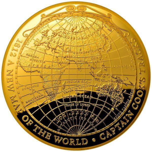 1 Unze Goldmünze Terrestrial Dome1 PP