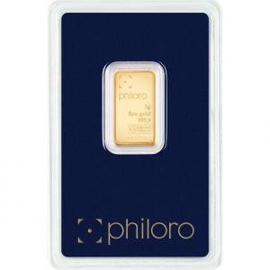 5 g Goldbarren philoro