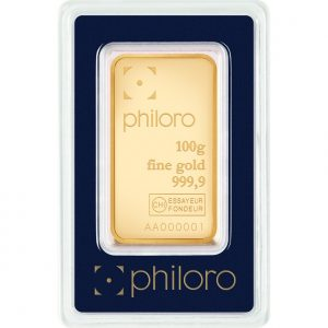 100 g Goldbarren philoro