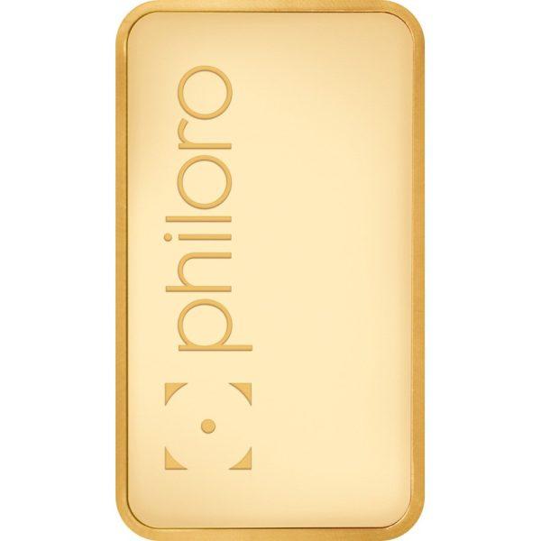 250 g Goldbarren philoro