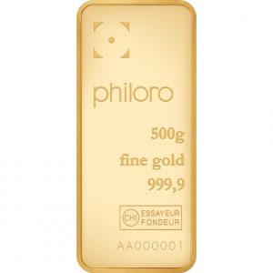 500 g Goldbarren philoro