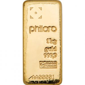 1 kg Goldbarren philoro