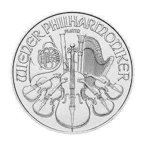 1 Unze Platin Wiener Philharmoniker