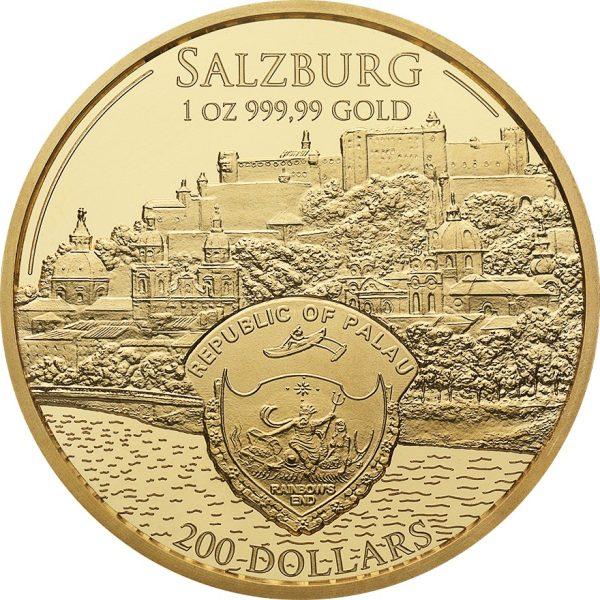 1 Unze Gold Mozart Coin 2017