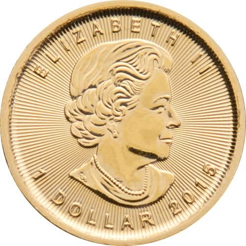 1/20 Unze Goldmünze Maple Leaf 2017