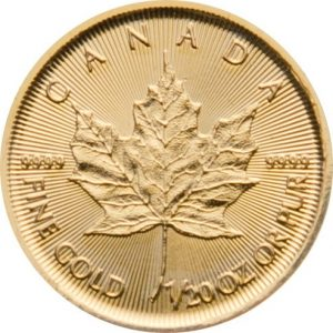 1/20 Unze Goldmünze Maple Leaf 2017