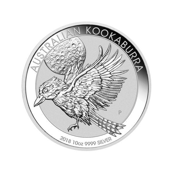 10 Unzen Silbermünze Kookaburra 2018