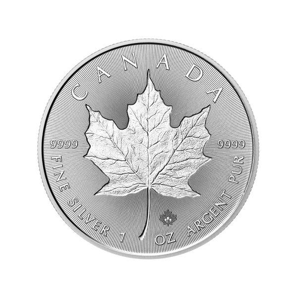1 Unze Silber Maple Leaf Incuse 2018