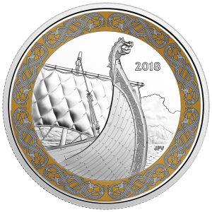 1 Unze Silbermünze Galionsfiguren - Drachenboot (2.)