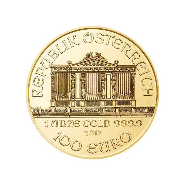 1 Unze Goldmünze Wiener Philharmoniker 2017
