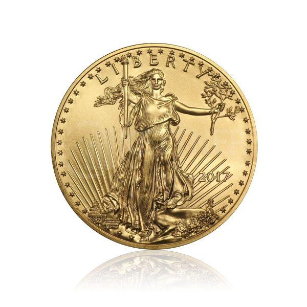 1/4 Unze Goldmünze American Eagle 2015