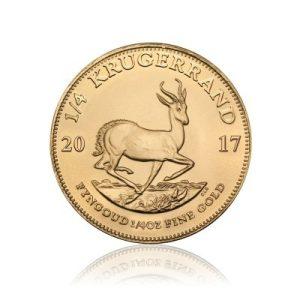 1/4 Unze Gold Krügerrand 2017