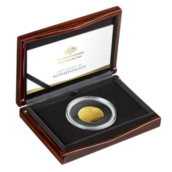 1 Unze Goldmünze Eine neue Weltkarte PP