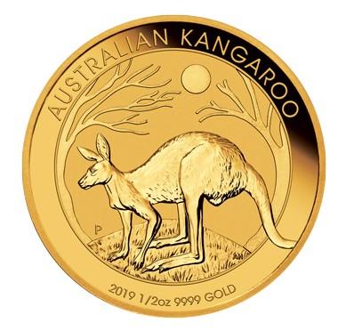 1/2 Unze Goldmünze Känguru Nugget 2019